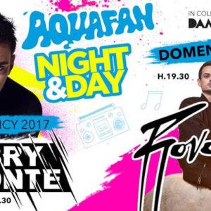 """Rovazzi ti fa """"Volare"""" giù dagli scivoli all'Aquafan Night & Day"""