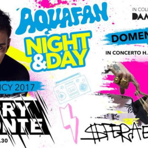 Il Trap magnetico di Sfera Ebbasta anima Aquafan Night & Day