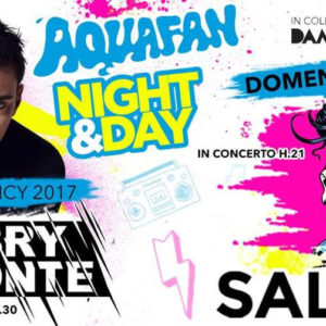 Il rapper Salmo si prepara per Aquafan Night & Day
