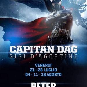 Il capitano Gigi d'Agostino attracca al Peter Pan Riccione