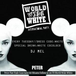 Alla conquista del Peter Pan Riccione! Sei pronto per World Wide White Party?