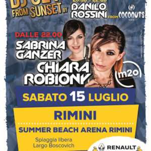 Il Vertical Summer Tour inizia da Rimini al Summer Beach Arena