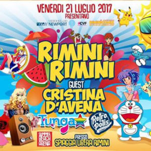 Arriva Rimini Beach Party al Summer Beach Arena