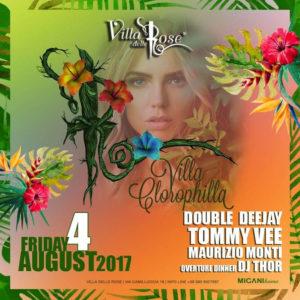 Tommy Vee accende la serata alla Villa delle Rose