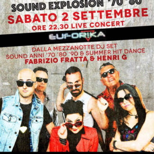 Euforika live band in concerto al Frontemare Rimini