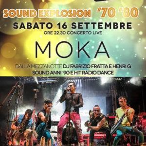 L'energia dei Moka Club sul palco del Frontemare Rimini