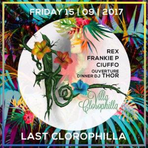 Ultimo venerdì clorophilla della Villa delle Rose