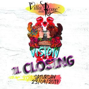 Ultimo sabato Villa delle Rose. Festeggia la fine dell'estate 2017