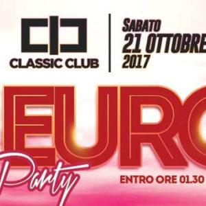 Torna il Party più economico di sempre. Classic Club party 1 euro