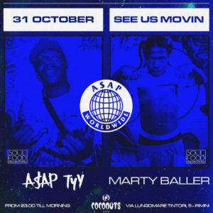 Notte da paura al Coconuts Rimini con Marty Baller