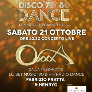 Gli OXXXA animano il nuovo sabato Frontemare Rimini