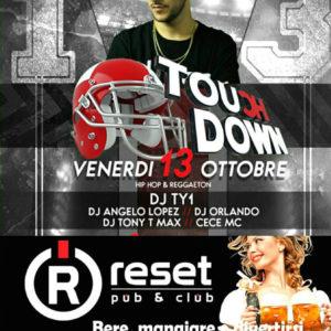 Reset Club Riccione ti aspetta tutti i venerdì con Touch Down Ibiza