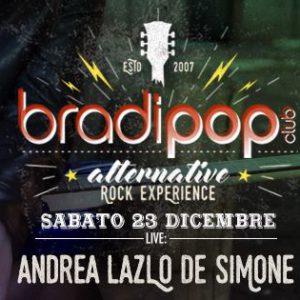 Andrea Laszlo de Simone in live al Bradipop Rimini