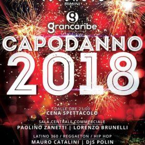 Capodanno Coconuts 2018 con il Grancaribe