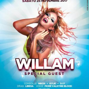 William è la special guest del Classic Club Rimini