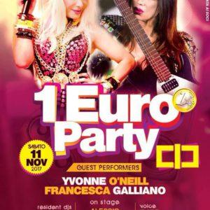 1 Euro Party ti aspetta al Classic Club Rimini
