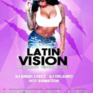 Tutti i mercoledì notte latina al Vision Club. Arriva Latin Vision.