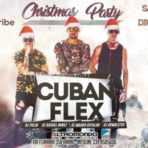 I Cuban Flex animano il sabato Altromondo Studios