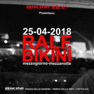 Ralf in Bikini. Musica nostop da mezzogiorno a mezzanotte