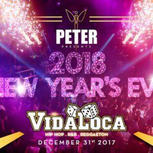 Capodanno Peter Pan 2018 esplosivo con il Vida Loca