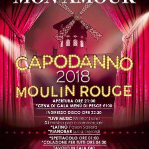 Capodanno Monamour 2018 in stile Moulin Rouge
