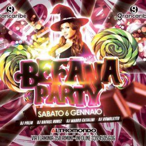 Befana party all'Altromondo con il Grancaribe