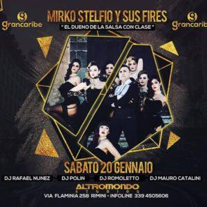 Altromondo Grancaribe presenta Mirko Stefio y sus fires