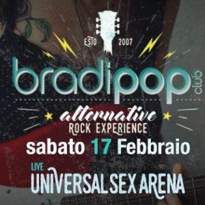 Ancora Rock al Bradipop con gli Universal Sex Arena