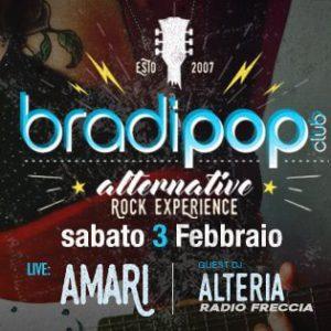 Rock music al Bradipop con Alteria e Amari