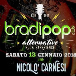 Nicolò Carnesi in live al Bradipop Rimini
