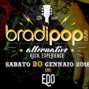 Concerto live al Bradipop Rimini con Edo
