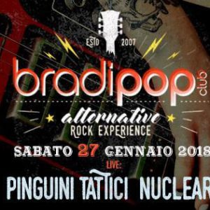 Arrivano i Pinguini Tattici Nucleari al Bradipop Rimini