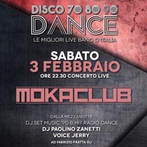 Dance anni 70 e 80 con i Moka Club al Frontemare Rimini