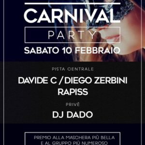 Carnival Party al Jolly Disco