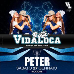 Peter pan Vida Loca, il sabato più caliente della Riviera.