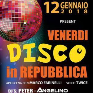Vision Club presenta: Venerdì Disco in Repubblica