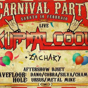 Carnival Party! Live: Kurnalcool @Wave Misano