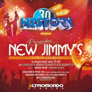 Tutto in una Notte!!! All'Altromondo History arrivano gli amici del New Jimmy's