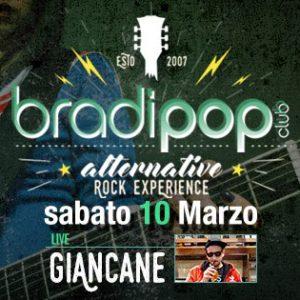 Giancane in live al Bradipop Rimini
