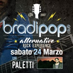 Paletti in live al Bradipop Rimini