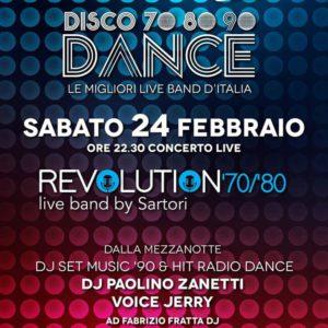 Serata Revival al Frontemare Rimini con Revolution