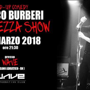 Marco Burberi Amarezza live al Wave Misano