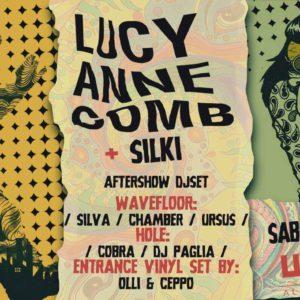 Lucy Anne Comb e Silki al Wave