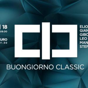 Buongiorno… Classic Club.
