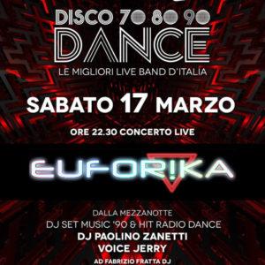 """Un sabato """"Euforiko"""" solo al Frontemare Rimini"""