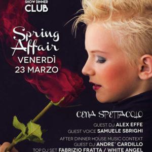 Voglia di primavera? Spring Affair al Frontemare Rimini