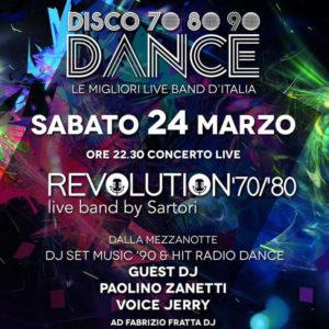 Dance anni 70, 80 e 90 al Frontamare Rimini