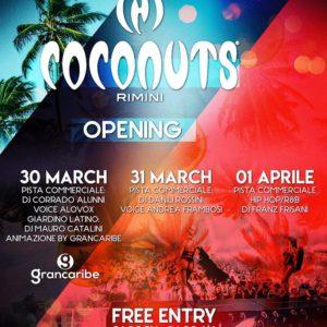 Festa di Pasqua 2018 con il Coconuts Rimini
