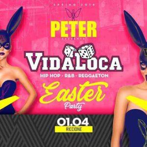Pasqua Peter Pan 2018 con Vida Loca