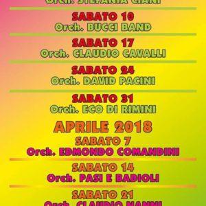 Orchestra Bergamini al 007 Rimini